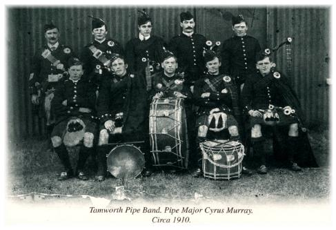 1910 Band Photo