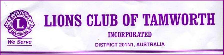 Lions Club of Tamworth